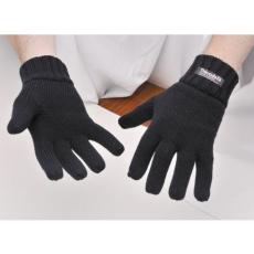 GL13 - Kötött kesztyű Thinsulate béléssel - fekete