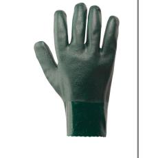 A827 - Duplán mártott PVC védőkesztyű - zöld