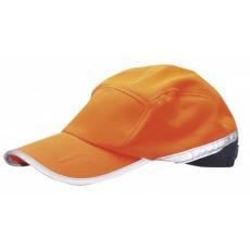 HB10 - Jól láthatósági baseball sapka - narancs / tengerész