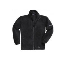 F280 - Interaktív polár pulóver - fekete
