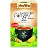 Golden Temple Zöld tea gyömbérrel, citrommal BIO 17x1,8g Yogi