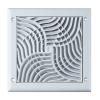 Awenta TX5 négyszögletes fali rács, 100-as csonkkal 150X150