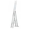 KRAUSE 121257 Monto Tribilo 3X12 fokos sokcélú létra lépcsőfunkcióval