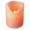 Karácsonyi LED gyertya dekor - narancssárga
