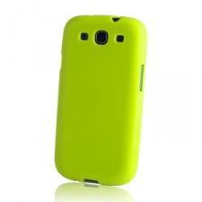 Sony Xperia J, TPU szilikon tok, zöld tok és táska