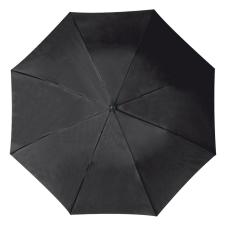 RAINBOW esernyõ, fekete (RAINBOW kézi nyitású egyszeres teleszkópos összecsukható esernyõ, nylon)