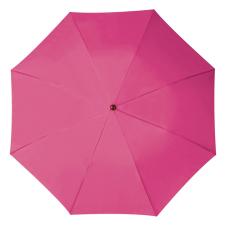 RAINBOW esernyõ, pink (RAINBOW kézi nyitású egyszeres teleszkópos összecsukható esernyõ, nylon tokban.)