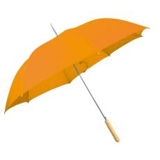 Automata ernyõ fa nyéllel, narancs (Automata esernyõ, egyenes fa fogantyúval és fém csúccsal sokféle)