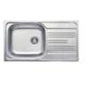 LIVINOX EC198K natúr egymedence csepptálcás mosogató