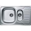 LIVINOX EC174DK karcálló,szövetmintás gyümölcsmosós mini csepptálcás mosogató
