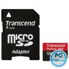 Transcend 128GB microSDXC Class10 UHS-I + adapterrel