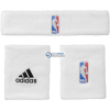 Adidas Frotki adidas NBA Wristband Plus Headband 3szt G87965