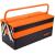 Neo Tools NEO szétnyitható fém szerszámosláda 55x22x21 cm / két tagos