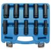 BGS -5206 Levegős dugókulcs készlet, 10-24 mm, 10 részes