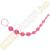 California Exotic Novelties X-10 gyöngysor - rózsaszín