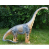 Dinoszaurusz - Diplodocus - kicsi, felemelt fejjel