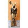 Anubisz-135cm/bronz-arany