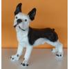 Kutya-Francia bulldog-álló/31cm/ff
