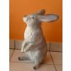 Nyúl-40 cm-ülő/szürke