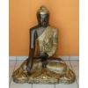 Buddha-thai-lótuszülésben/90 cm/bronz-arany