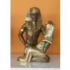 Fáraó-Tutanhamon papírusszal/25cm/ba