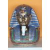 Fáraó-36cm-mellszobor-Tutanhamon/színes