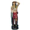 Indián-94 cm-harcos/piros ruhás