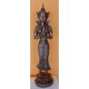 Buddha-burmai-álló/réz