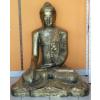 Buddha-thai-lótuszülésben/90 cm/antik arany