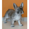 Kutya-Francia bulldog-álló/37cm/sz