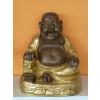 Buddha-kínai-Boldog/bronz-arany