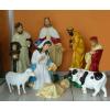 Betlehem-90cm/08 figurával/birkával-tehénnel