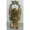 Buddha-kínai-feje fölött hajó/40 cm/antik arany