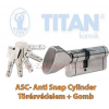 Titan K5 ASC zárbetét 35x50 gombos