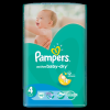 Pampers Active Baby-Dry 4 Maxi pelenka, 49 db (4015400735670)
