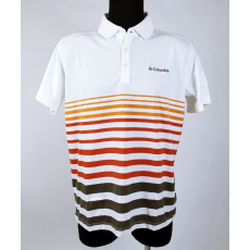 High-Lander Columbia Poloing Sweat Threat Stripe Polo Shirt