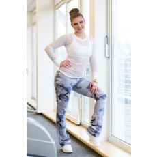 Fitdress Flare Leggings-army
