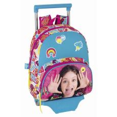 Safta Luna gurulós hátizsák - 34 cm