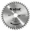 EXTOL PREMIUM EXTOL körfűrészlap, keményfémlapkás, 400×30mm(lyuk átm), T60; 3,8mm lapkaszélesség, max. 3000 ford/perc
