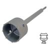 EXTOL PREMIUM EXTOL körkivágó téglához, SDS befogás; 105mm, 300mm hosszúságú szár
