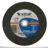 EXTOL PREMIUM EXTOL vágókorong acélhoz/inoxhoz, kék; 115×2,5×22,2mm, max 13300 ford/perc, (darabáras, de csak ötösével rendelhető)