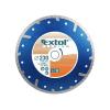 EXTOL PREMIUM EXTOL gyémántvágó TURBO Plus; 150mm, száraz és vizes vágáshoz, vágási mélység: 3,0 cm