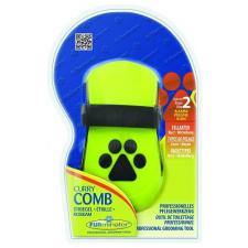 FURminator Curry Comb Ergonom gumi kefe kutyafésű