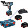 Bosch 1+2 Év Garancia! BOSCH GSR 14,4 VE-2-LI + 3.2.0 Ah akku  1 db 2-es méretű L-boxx-ban 06019D9001