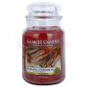 Yankee Candle Sparkling Cinnamon illatos gyertya  623 g Classic nagy méret + minden rendeléshez ajándék.