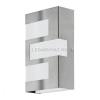 EGLO Ralora – 94086 - kültéri falra szerelhető LED lámpa, rozsdamentes acél, 3x2,5W, 3x180 lm, 3000K melegfehér