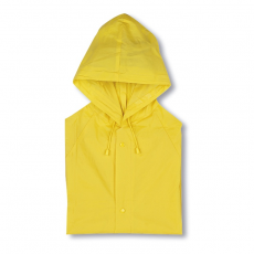 Kapucnis PVC esőkabát, sárga (Kapucnis PVC esőkabát)