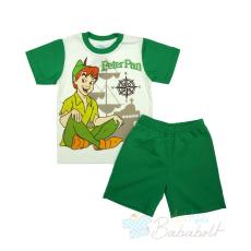 Disney Peter Pan gyerek együttes, nyári pizsama (méret:104-128)