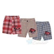 Disney Cars baba, gyerek kockás nadrág (méret:80-122)