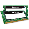 Corsair 4GB (2X2GB) 800MHz DDR2, CL5 SODIMM Dual-channel notebook memória